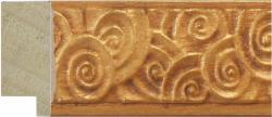 C2357 - Ornate Gold Moulding From Wessex Pictures