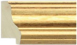 D3041 Plain Gold Moulding by Wessex Pictures