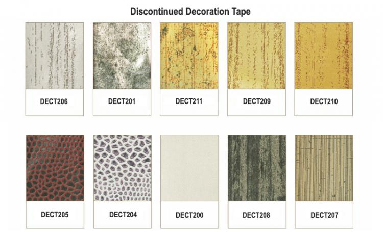 Discontinued Mat Decoration Tape - SWATCH