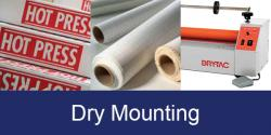 for dry mounting products click here