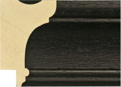 M02641 Black Moulding by Wessex Pictures