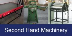 for second hand machinery click here