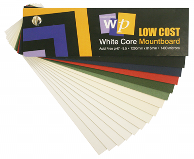 Wessex Low Cost White Core Mountboard