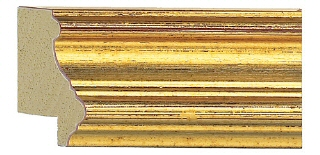 C2500 Plain Gold Moulding by Wessex Pictures