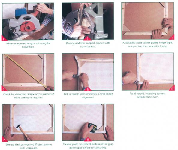 Stretcher Moulding instructions