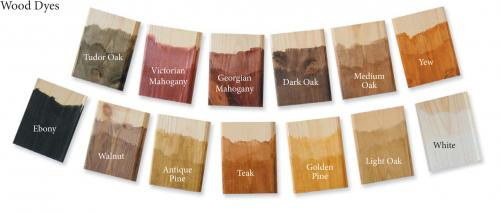 Wood Dyes Colours